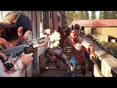 days gone gameplay exclu ps4 meilleurs jeux de zombie 2017 youtube. Black Bedroom Furniture Sets. Home Design Ideas