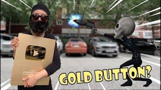 골드버튼을 노리는 도둑과 외계인의 대결 l UFO ☢ 도둑 VS 외계인 l Alien stealing YouTube gold button from thief l Alien UFO