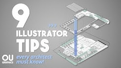 9 Illustrator Tips every Architect must know!