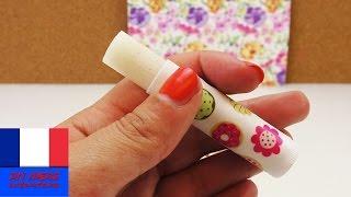 Faire soi-même un baume pour les lèvres à la vanille DIY / Léger peeling / Sans vaseline