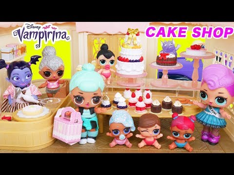 LOL Doll Bakery Family School Morning Routine to Barbie Night Routine