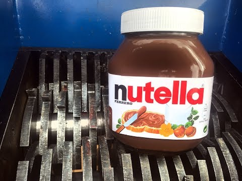 NUTELLA SHREDDING! AWESOME VIDEO!