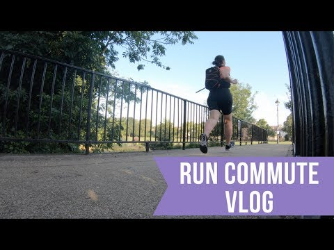 Run Commute Vlog | Laura : Fat to Fit - YouTube