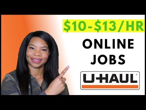 Uhaul Now Hiring! Work-From-Home Part-time Jobs. Entry Level | Online, Remote Work-At-Home Jobs 2019