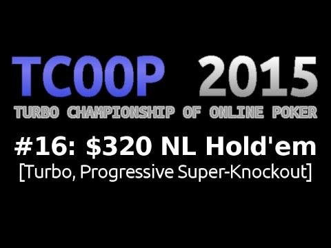 [TCOOP 2015] Event #16: $320 NL Hold'em, $1M Gtd