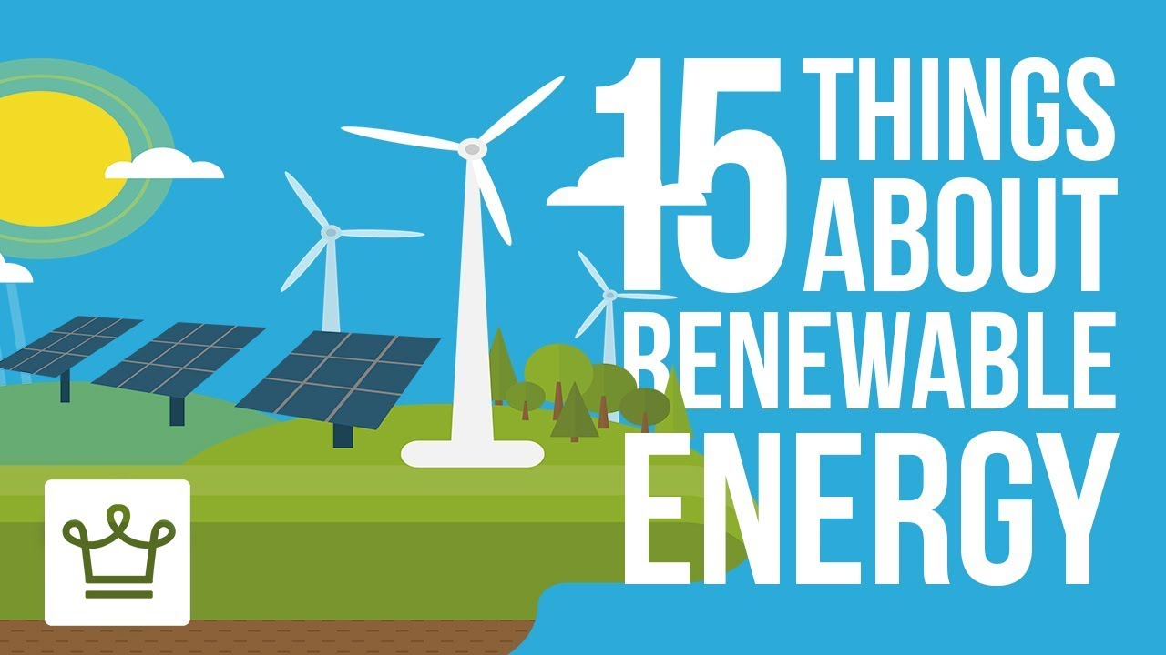 15 Things you didn't know about the Renewable Energy Industry.