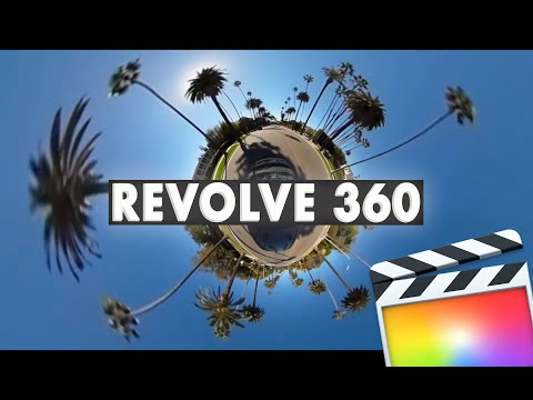 Revolve 360 for FCP X, Premiere Pro, AE and Motion Tutorial
