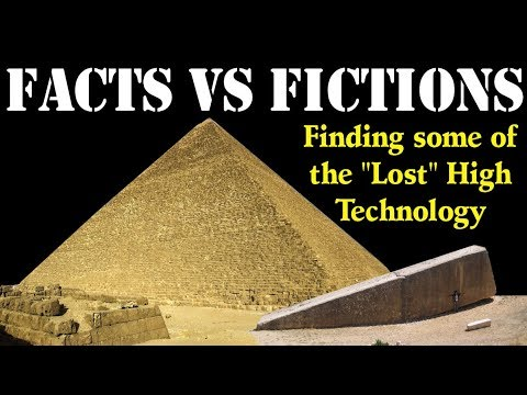 Great Pyramid & Baalbek Lost High Technology Claims Fact Che