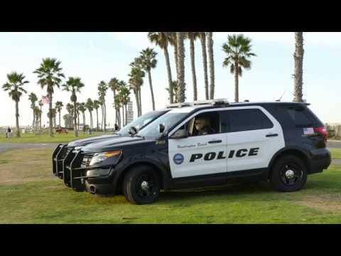 First Amendment Test Huntington Beach Patrol