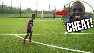 The BEAST GK is a CHEATER!! - Free kick Challenge