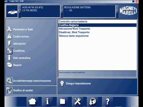 Kodowaniewymiana Akumulatora Audi A6 Tester Logicsmartvision