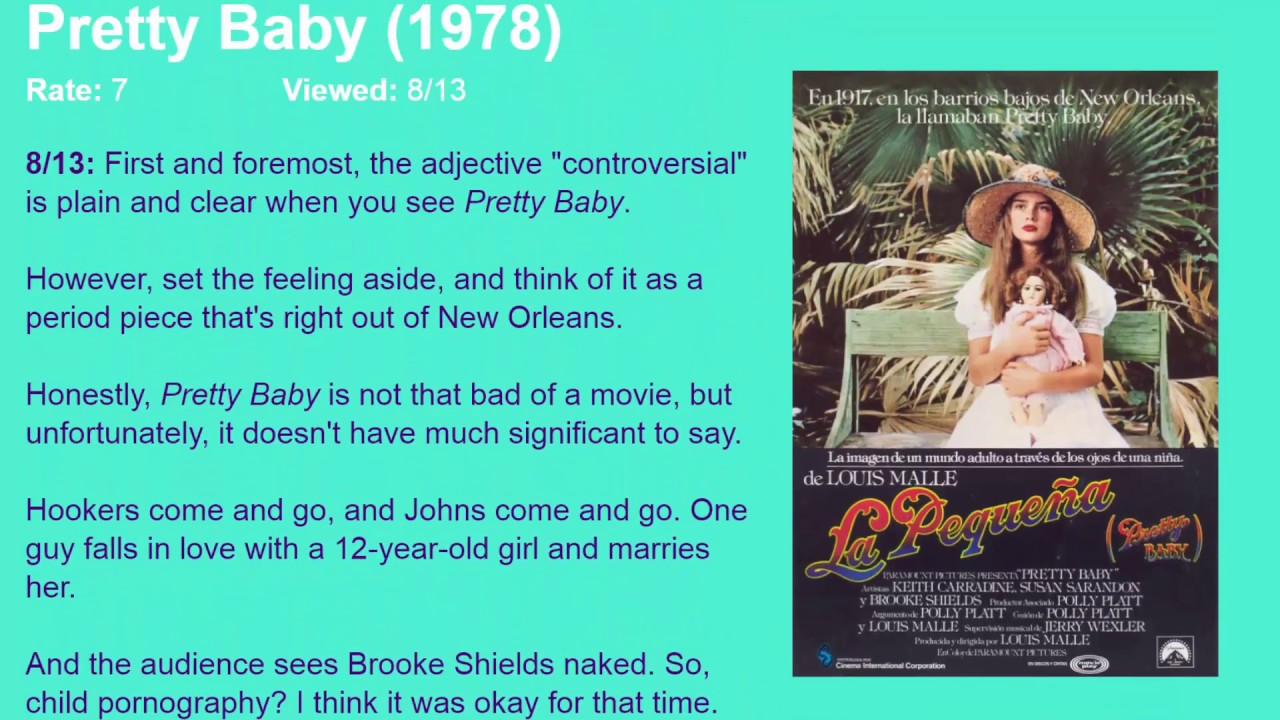 Download Movie Review: Pretty Baby (1978) [HD]