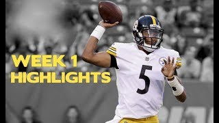 Josh Dobbs Preseason Week 1 Highlights    Pittsburgh Steelers ᴴᴰ