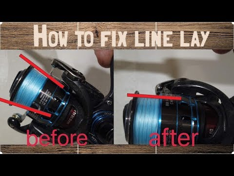 How To Fix Uneven Line Lay On Spinning Reels, Quick And Easy