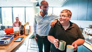 Kane's coffee sparks smiles