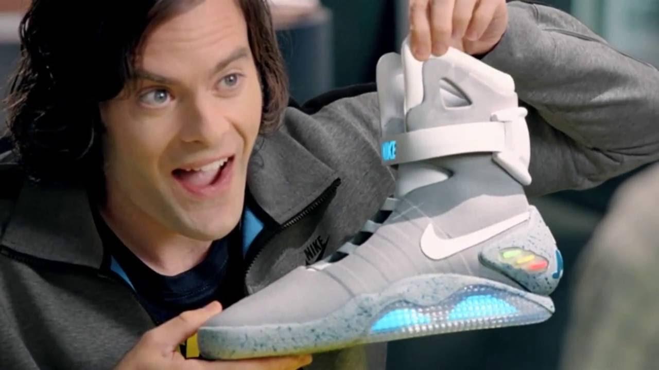 Interior Se infla metal  Las zapatillas de Volver al Futuro por fin son una realidad - YouTube