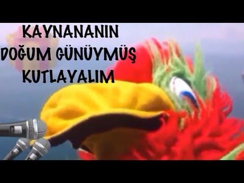 İyi ki Doğdun KAYNANA  :)  2. KOMİK DOĞUM GÜNÜ VİDEOSU Made in Turkey :) 🎂 *ABİDİN KUKLA*