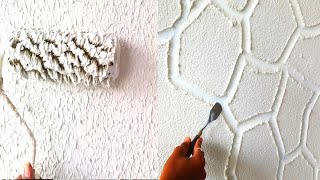 6 new updated texture wall painting techniques