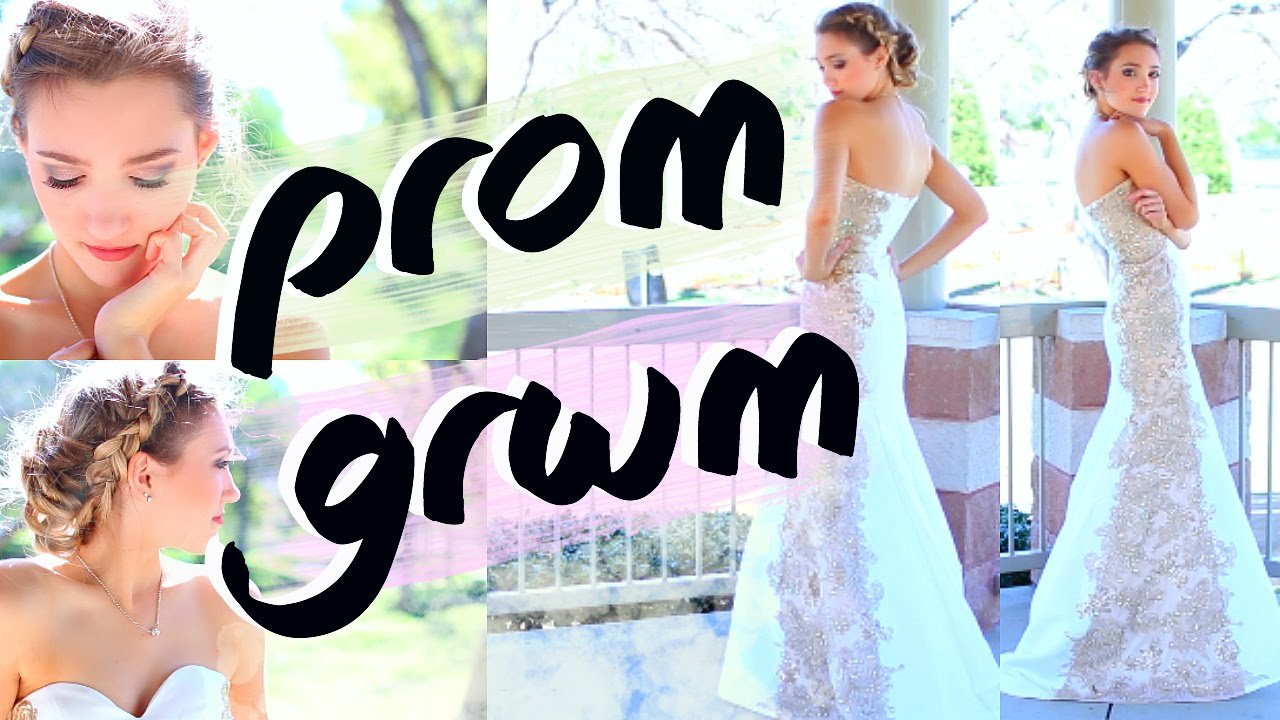 Get prom ready with me hair makeup dress - Prom get ready with me hair makeup dress 2016 michelle reed youtube