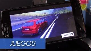 Moto C, rendimiento en juegos
