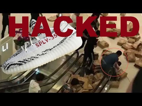 Adidas Confirmed HACKED in Shanghai China!  80+ Zebra YEEZYS! How?