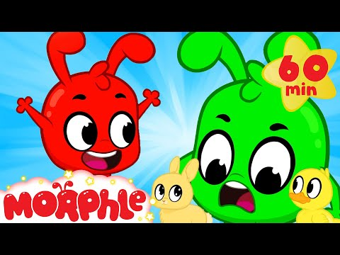 Orphle and the Cute Bunnies - Mila and Morphle   Kids Cartoons   Morphle TV