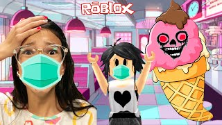 Roblox - ESCAPAMOS DA SORVETERIA MALUCA (Escape The Ice Cream Obby) | Luluca Games