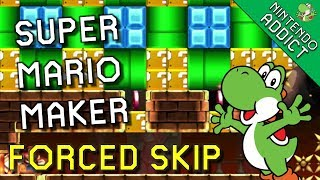 Expert Forced Skip and Skipped Levels | Super Mario Maker
