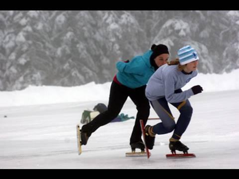 Big White speed skating
