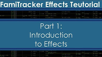 Famitracker Effects Teutorial - YouTube