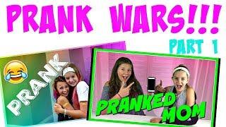 Our Favorite Pranks Part 1   Prank Wars   Taylor and Vanessa