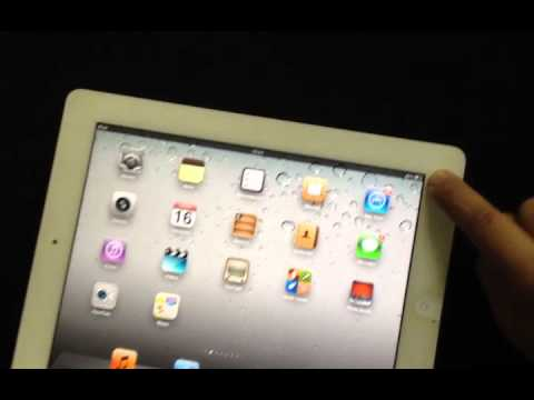 tutoriales primeros pasos usando el ipad2 youtube rh youtube com What's in the Box iPad iPad 2 Screen Protector