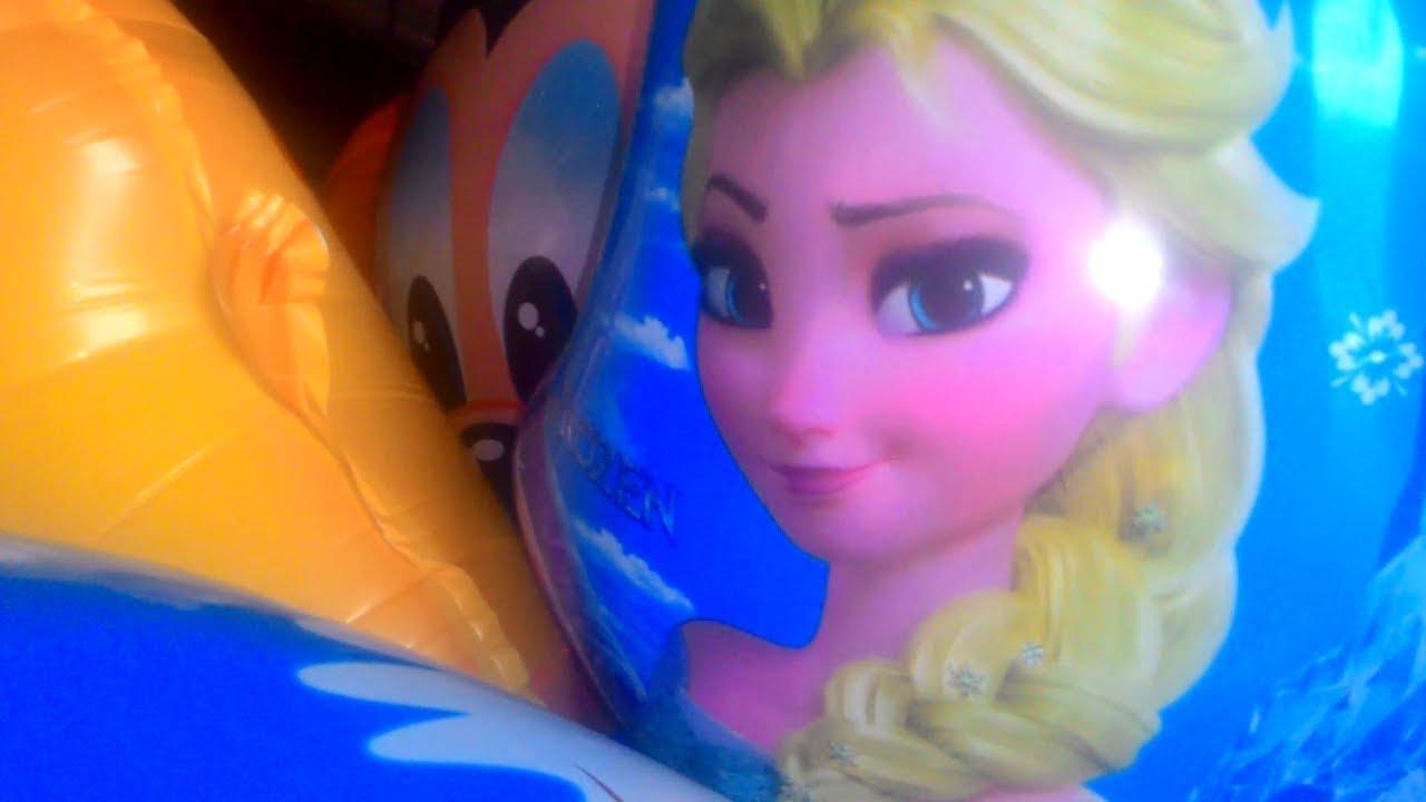 Bermain Mainan Balon Karakter Frozen Masha Pokemon Hello Kitty Kuda Pony Nemo Youtube