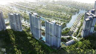 Ecopark Sky Oasis The Island Bay - Chung cư thành phố xanh ecopark - hotline 0964373355