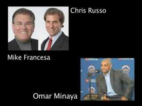 Mike Francesa and Chris Russo talk with Omar Minaya Part 1
