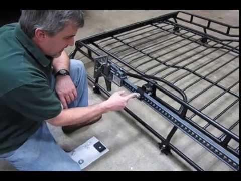 Install Hi Lift Bracket To Rack On Your Discovery Series II