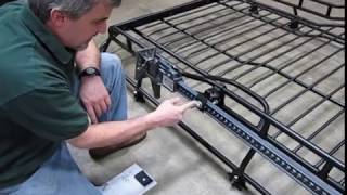Install Hi Lift Bracket To Rack On Your Discovery Series II video screen shot