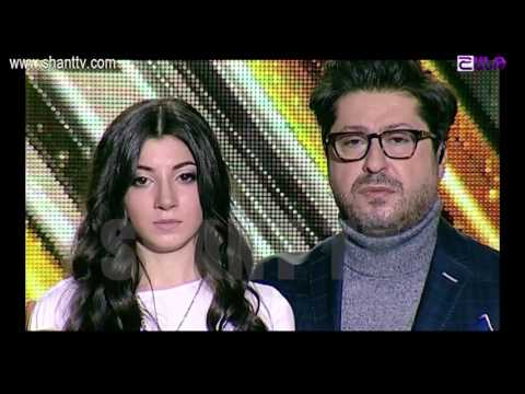X-Factor4 Armenia-4 Chair Challenge-Girls-Mari Hunanyan-Maroon 5 - This Love