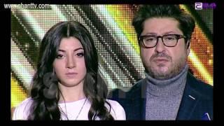 X Factor4 Armenia 4 Chair Challenge Girls Mari Hunanyan Maroon 5   This Love 22 01 2017