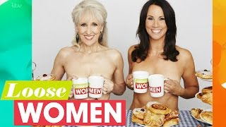 Calendar Girls Photoshoot With Anita Dobson And Andrea McLean   Loose Women
