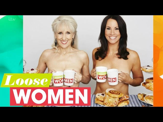 Calendar Girls Photoshoot With Anita Dobson And Andrea McLean | Loose Women