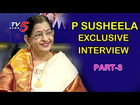 P Susheela Exclusive Interview   Life is Beautiful   Part - 3   TV5 News