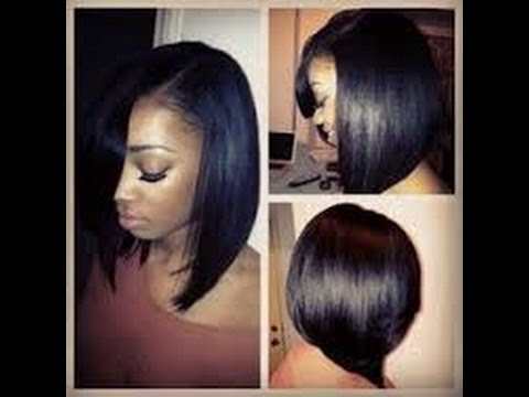 Best Hairstyles For Black Women With Relaxed Hair YouTube