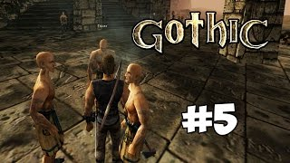 Прохождение the Gothic #5 Путешествие в болотный лагерь