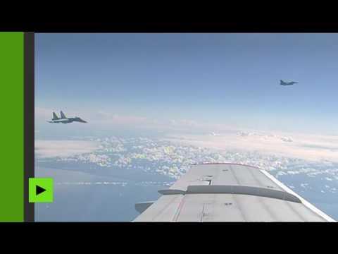 L'avion du ministre de la Défense russe a été survolé par un jet de l'OTAN