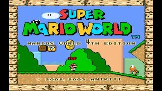 🔴SUPER MARIO WORLD - 4TH EDITION (DIFICULDADE: VERY HARD IMPOSSIBLE) #4