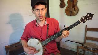traditional banjo tunings 1 (relative tuning)