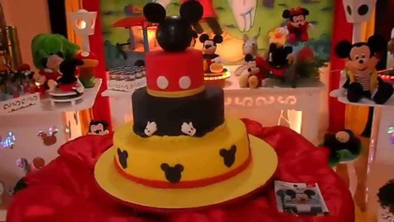Decoracao Yotube ~ Decoraç u00e3o Mickey Provençal YouTube