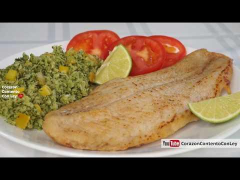 Recetas con filete de pescado para dieta