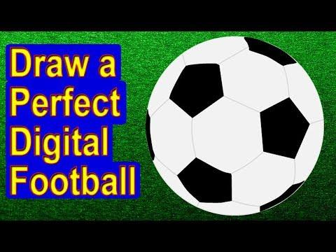 Speedpaint Football | Digital Art Drawing // GamersBoy79